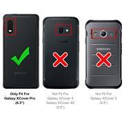 Panzerglas für Samsung Galaxy Xcover Pro Glasfolie Displayschutz Folie Glas Hartglas Anti Fingerprint