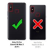 Farbwechsel Hülle für Xiaomi Mi Max 3 Schutzhülle Handy Case Slim Cover