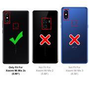 Farbwechsel Hülle für Xiaomi Mi Mix 2s Schutzhülle Handy Case Slim Cover