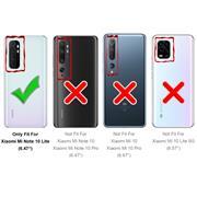 Farbwechsel Hülle für Xiaomi Mi Note 10 Lite Schutzhülle Handy Case Slim Cover