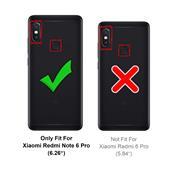 Farbwechsel Hülle für Xiaomi Redmi Note 6 Pro Schutzhülle Handy Case Slim Cover