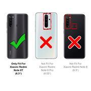 Panzerglas für Xiaomi Redmi Note 8T Glasfolie Displayschutz Folie Glas Hartglas Anti Fingerprint