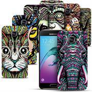 Azteken Design Hard Case für Samsung Galaxy A5 2016 A510 Hülle - Schutzhülle mit Waterprint Muster
