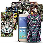 Azteken Design Hard Case für Samsung Galaxy J5 2016 Hülle - Schutzhülle mit Waterprint Muster