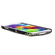 Azteken Design Hard Case für Samsung Galaxy S5 Mini Hülle - Schutzhülle mit Waterprint Muster