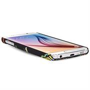 Azteken Design Hard Case für Samsung Galaxy S6 Hülle - Schutzhülle mit Waterprint Muster