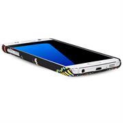 Azteken Design Hard Case für Samsung Galaxy S7 Edge Hülle - Schutzhülle mit Waterprint Muster