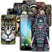 Azteken Design Hard Case für Wiko Lenny 2 Hülle - Schutzhülle mit Waterprint Muster