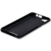 Silikonhülle für Huawei P8 Lite Hülle + Panzerglas Folie Schutzhülle in Schwarz
