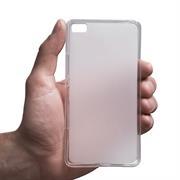 Matte Silikon Hülle für Huawei P8 Lite Backcover Handy Case