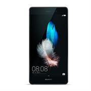 Silikonhülle für Huawei P8 Hülle + Panzerglas Folie Schutzhülle in Schwarz