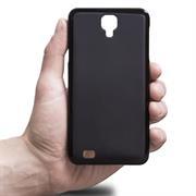 Silikonhülle für Huawei Y5 Hülle + Panzerglas Folie Schutzhülle in Schwarz