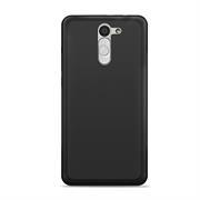 Silikonhülle für LG G4 C Hülle + Panzerglas Folie Schutzhülle in Schwarz