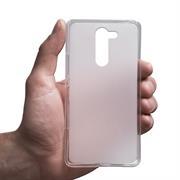 Silikonhülle für LG Spirit Hülle + Panzerglas Folie Schutzhülle in Transparent