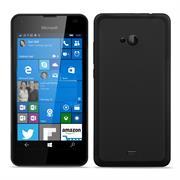 Matte Silikon Hülle für Microsoft Lumia 535 Backcover Handy Case