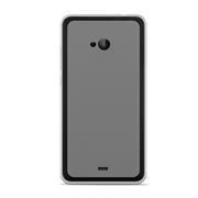 Silikonhülle für Microsoft Lumia 540 Hülle + Panzerglas Folie Schutzhülle in Transparent