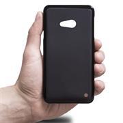 Silikonhülle für Microsoft Lumia 550 Hülle + Panzerglas Folie Schutzhülle in Schwarz