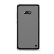 Silikonhülle für Microsoft Lumia 550 Hülle + Panzerglas Folie Schutzhülle in Transparent