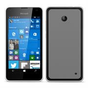 Matte Silikon Hülle für Nokia Lumia 630 / 635 Backcover Handy Case