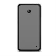 Silikonhülle für Microsoft Lumia 630 Hülle + Panzerglas Folie Schutzhülle in Transparent