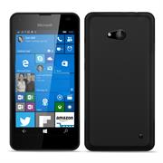 Matte Silikon Hülle für Microsoft Lumia 640 XL Backcover Handy Case