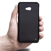 Silikonhülle für Microsoft Lumia 640 XL Hülle + Panzerglas Folie Schutzhülle in Schwarz