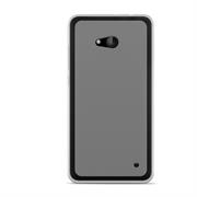 Silikonhülle für Microsoft Lumia 640 XL Hülle + Panzerglas Folie Schutzhülle in Transparent