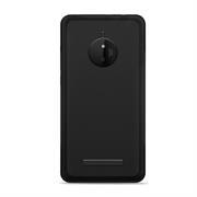 Silikonhülle für Nokia Lumia 830 Hülle + Panzerglas Folie Schutzhülle in Schwarz