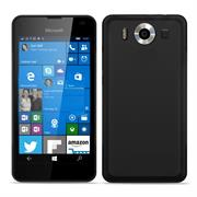 Matte Silikon Hülle für Microsoft Lumia 950 Backcover Handy Case