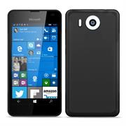 Matte Silikon Hülle für Microsoft Lumia 950 XL Backcover Handy Case