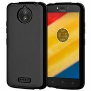 Matte Silikon Hülle für Motorola Moto C Backcover Handy Case