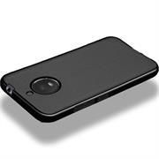 Matte Silikon Hülle für Motorola Moto E4 Plus Backcover Handy Case