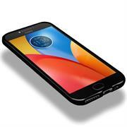 Matte Silikon Hülle für Motorola Moto E4 Backcover Handy Case