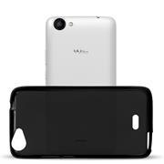 Matte Silikon Hülle für Wiko Rainbow Jam Backcover Handy Case