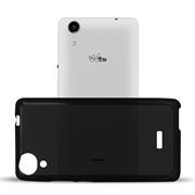 Matte Silikon Hülle für Wiko Rainbow Lite Backcover Handy Case