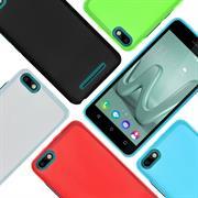 Matte Silikon Hülle für Wiko Sunset 2 Backcover Handy Case
