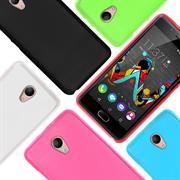 Matte Silikon Hülle für Wiko U Feel Lite Backcover Handy Case
