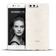 Brushed Silikon Hülle für Huawei P10 Plus Schutzhülle Cover im gebürstetem Design