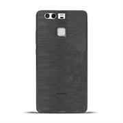 Handy Hülle für Huawei P9 Case Backcover im metallischen Brushed Look