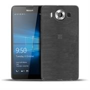 Handy Hülle für Microsoft Lumia 950 XL Case im Brushed Look