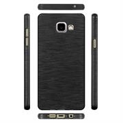 Handy Hülle für Samsung Galaxy A5 2016 Case Backcover im Brushed Look