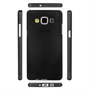 Handy Hülle für Samsung Galaxy A7 2015 Case Backcover im Brushed Look