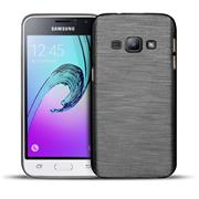 Handy Hülle für Samsung Galaxy J3 2016 Case im Brushed Look