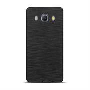 Brushed Silikonhülle für Samsung Galaxy J5 2016 Edition Schutzhülle Cover im gebürstetem Design Metallic Look