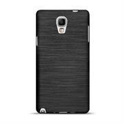 Brushed Silikonhülle für Samsung Galaxy Note 3 Neo Schutzhülle Cover im gebürstetem Design Metallic Look