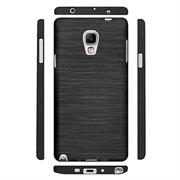 Handy Hülle für Samsung Galaxy Note 3 Neo Case im Brushed Look