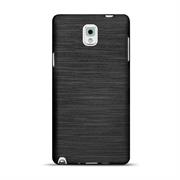 Handy Hülle für Samsung Galaxy Note 3 Case Backcover im Brushed Look