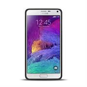Brushed Silikonhülle für Samsung Galaxy Note 4 Schutzhülle Cover im gebürstetem Design Metallic Look