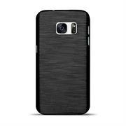 Brushed Silikonhülle für Samsung Galaxy Note 7 Schutzhülle Cover im gebürstetem Design Metallic Look