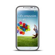 Handy Hülle für Samsung Galaxy S4 Case im metallischen Brushed Look